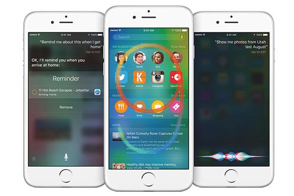 سیستم عامل iPhone OS 9