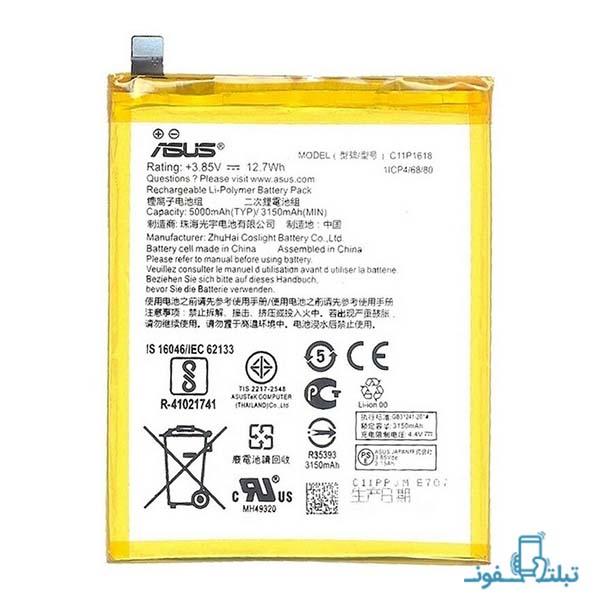 باتری گوشی ایسوس زنفون 4 مدل C11P1618