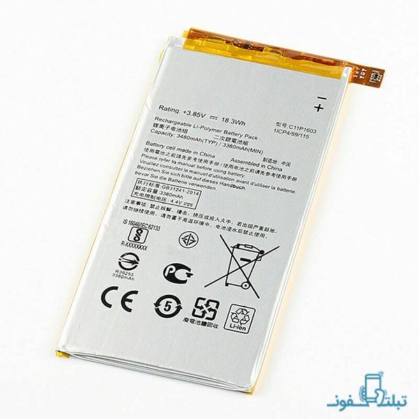 باتری گوشی ایسوس زنفون 3 Deluxe مدل C11P1603