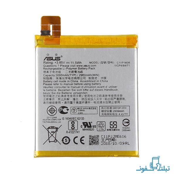 باتری گوشی ایسوس زنفون 3 لیزر مدل C11P1606