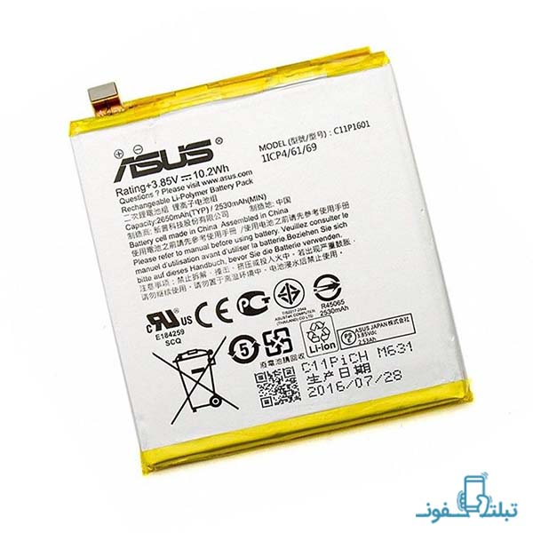 باتری گوشی ایسوس زنفون 3 مدل C11P1601