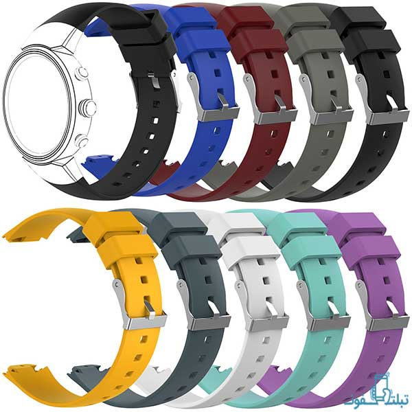 بند سیلیکونی ساعت هوشمند ایسوس زنواچ 3 مدل WI503Q