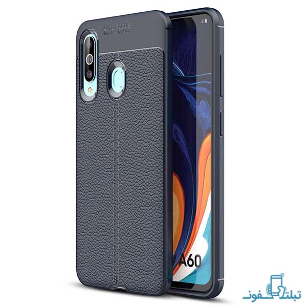 Auto Focus Leather Case for Samsung Galaxy A60-online