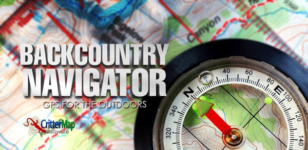 معرفی نرم افزار BackCountry Navigator GPS Pro Introducing
