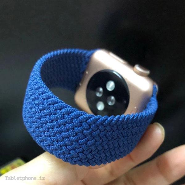 بند ساعت هوشمند اپل واچ مدل Braided Silicone