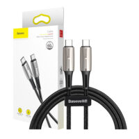 خرید کابل بیسوس تایپ USB-C یک متری مدل PD2.0 60W