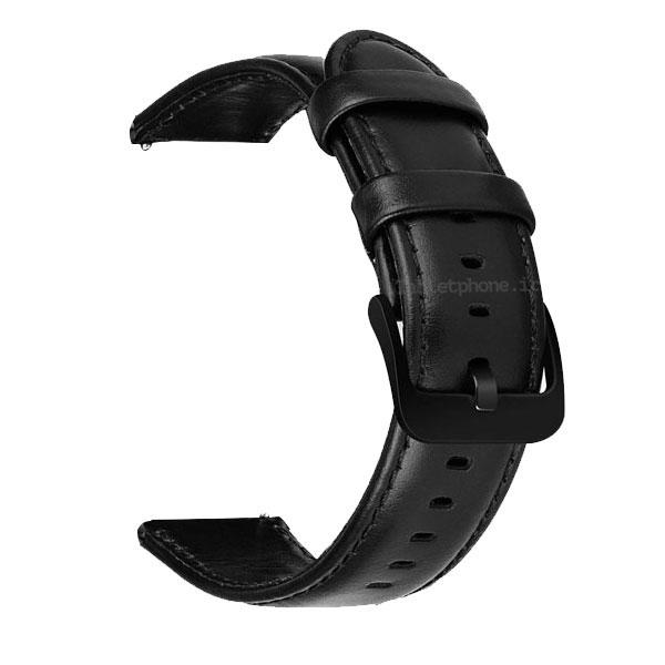 بند ساعت هوشمند مدل چرم Genuine