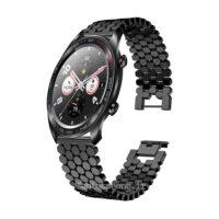 خرید بند ساعت هوشمند هواوی Honor Magic مدل استیل کندویی