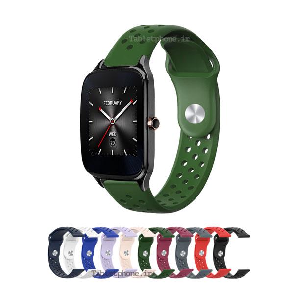 خرید بند ساعت هوشمند ایسوس Zenwatch 2 WI501Q مدل سیلیکون نایک