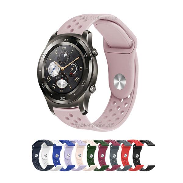 خرید بند ساعت هوشمند هواوی واچ 2 کلاسیک مدل سیلیکون نایک