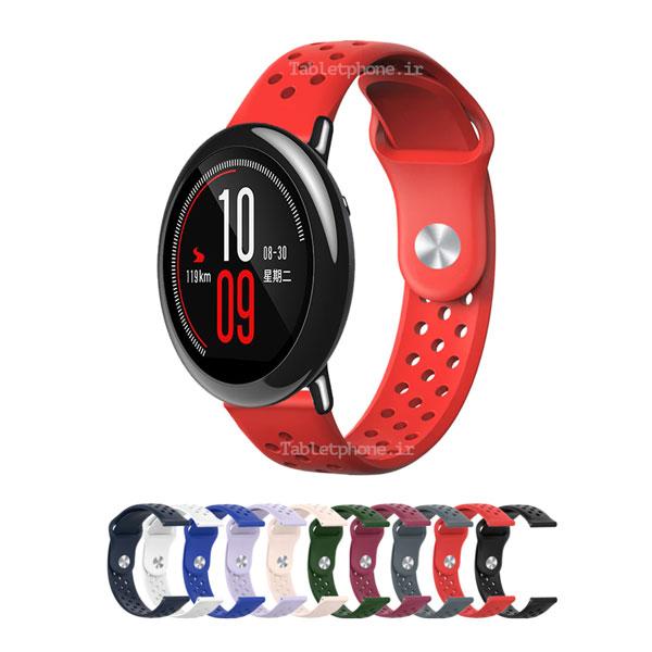 خرید بند ساعت هوشمند شیائومی Amazfit Pace مدل سیلیکون نایک
