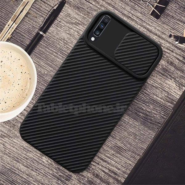 خرید قاب سیلیکونی سامسونگ Galaxy A30s با محافظ دوربین
