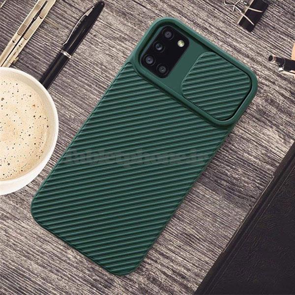 خرید قاب سیلیکونی سامسونگ Galaxy A31 با محافظ دوربین