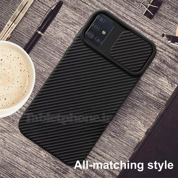 خرید قاب سیلیکونی سامسونگ Galaxy M51 با محافظ دوربین