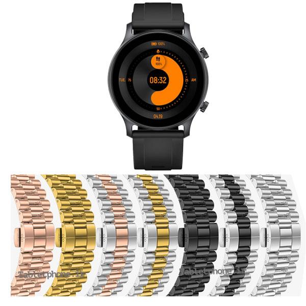 خرید بند ساعت شیائومی هیلو Haylou RS3 استیل 3Rows