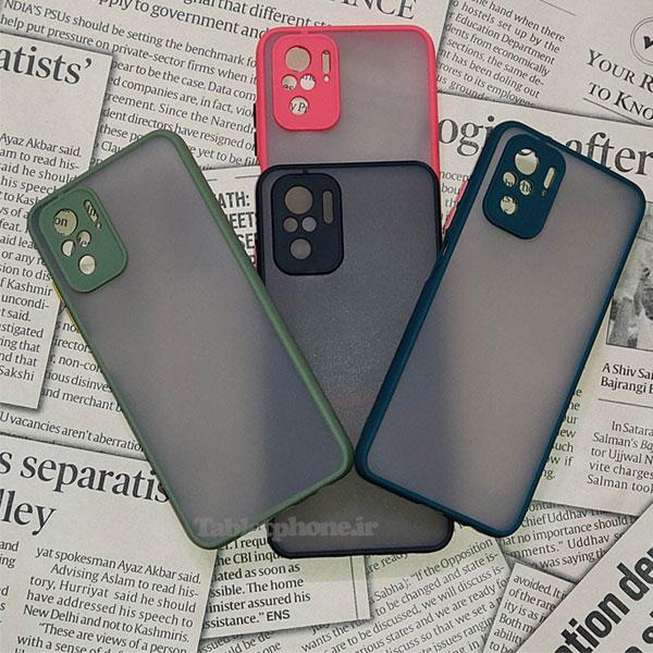 خرید قاب گوشی شیائومی Redmi Note 10 4G مدل پشت مات