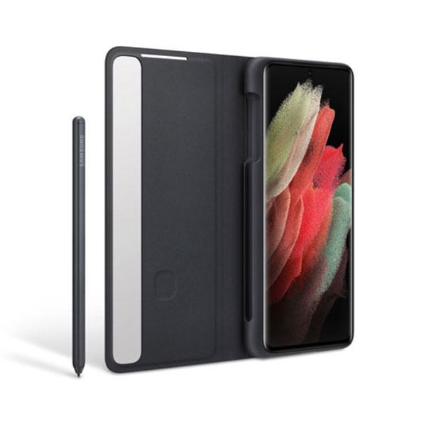 خرید کیف هوشمند سامسونگ Clear View S21 Ultra 5G به همراه S-Pen