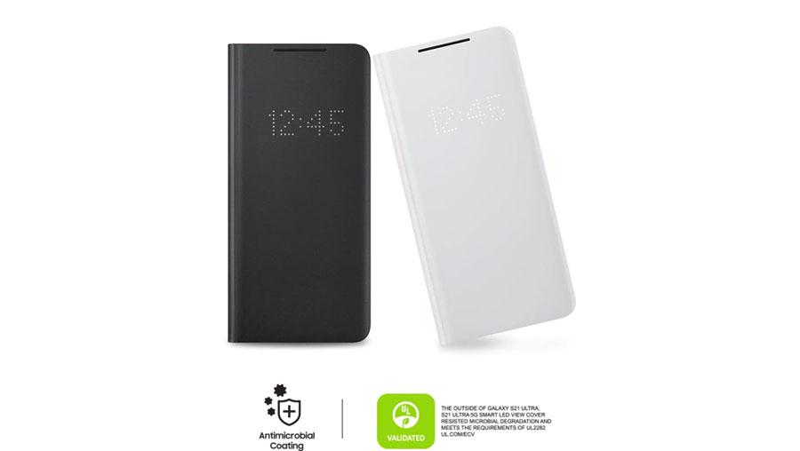 خرید کیف کاور هوشمند سامسونگ LED View S21 Ultra 5G