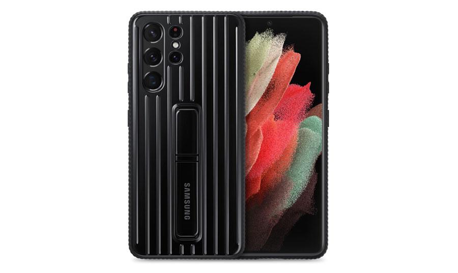 خرید اینترنتی قاب ضد ضربه اصلی گوشی سامسونگ S21 Ultra مدل Rugged Protective