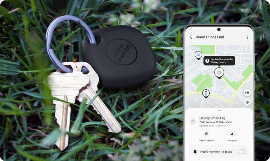 قیمت خرید ردیاب سامسونگ گلکسی اسمارت تگ Galaxy SmartTag