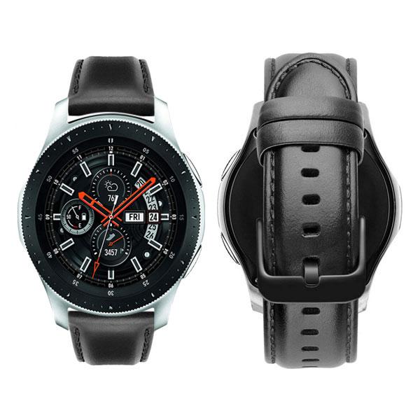 خرید بند ساعت سامسونگ Galaxy Watch 46mm مدل چرم Genuine