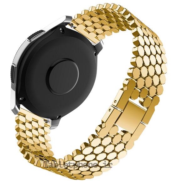 خرید بند ساعت هوشمند سامسونگ Galaxy Watch 46mm مدل استیل کندویی