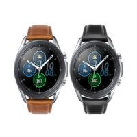 خرید بند ساعت سامسونگ Galaxy Watch 3 45mm مدل چرم Genuine