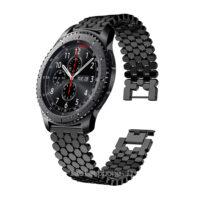 خرید بند ساعت هوشمند سامسونگ Gear S3 مدل استیل کندویی