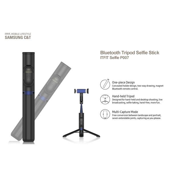 خرید مونوپاد و سه پایه بلوتوثی سامسونگ Samsung ITFIT Selfie Stick P007