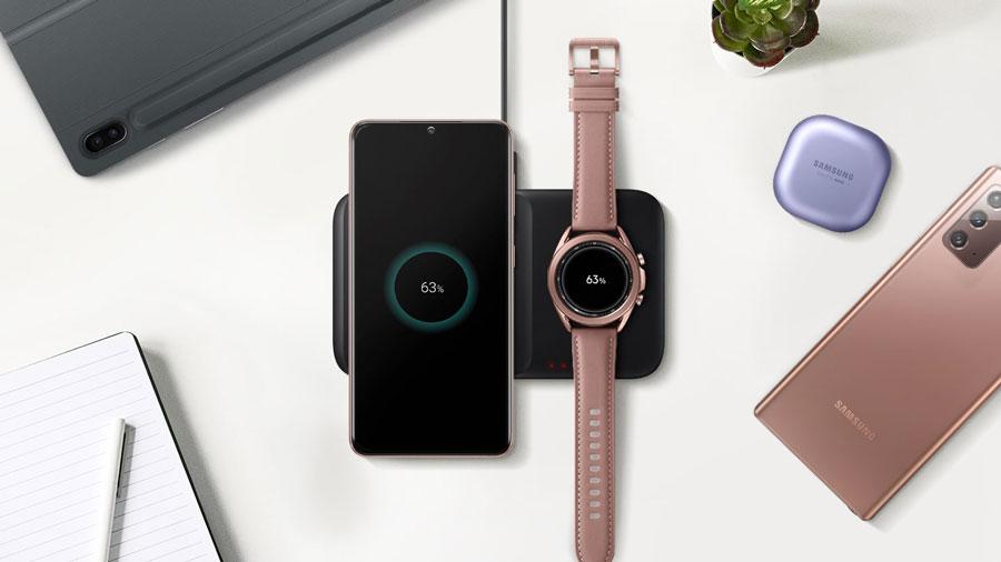 خرید شارژر بی سیم سامسونگ Wireless Charger Duo