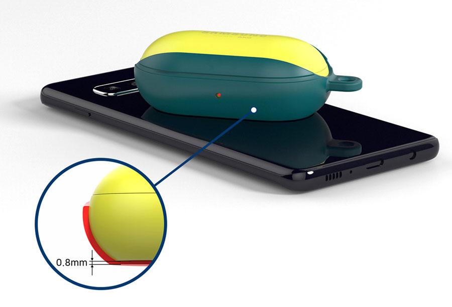 خرید کاور محافظ هندزفری Samsung Galaxy Buds Plus مدل سیلیکونی
