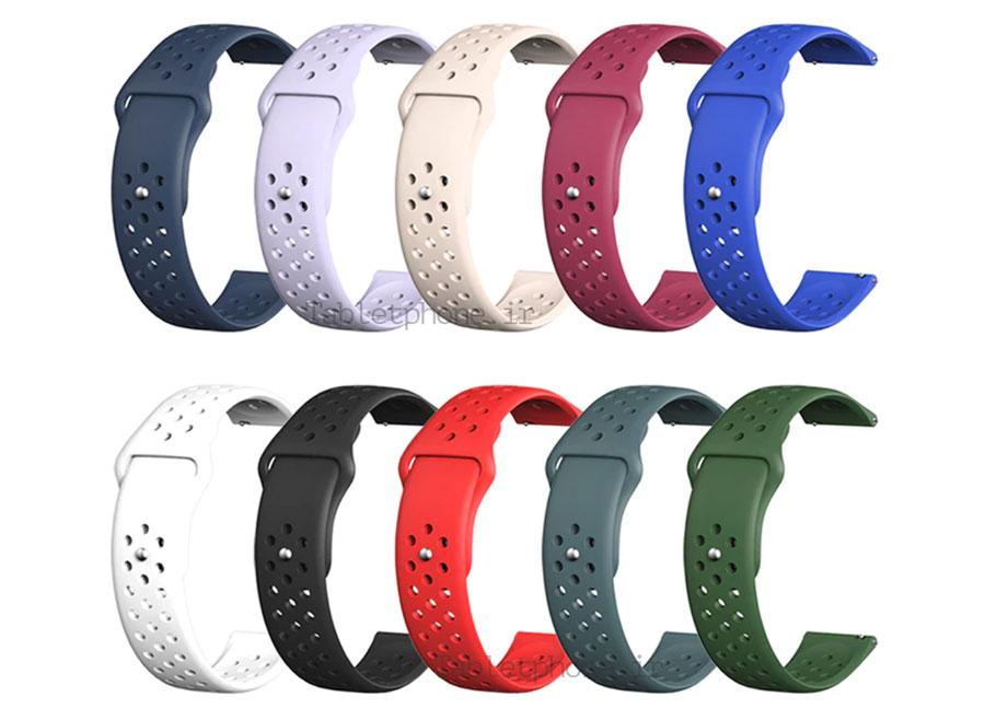خرید بند سیلیکون نایک ساعت هوشمند
