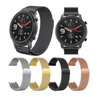 بند ساعت هوشمند شیائومی Amazfit GTR 47mm مدل فلزی میلانس