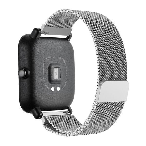 خرید بند ساعت هوشمند شیائومی Amazfit GTS مدل فلزی میلانس