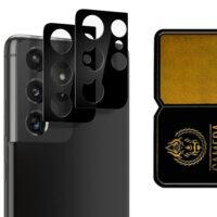 محافظ لنز دوربین سامسونگ Galaxy S21 Ultra مدل سرامیکی