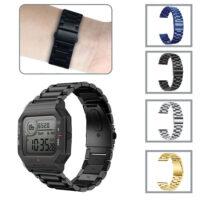 بند فلزی ساعت هوشمند آمازفیت Amazfit Neo مدل 3Bead