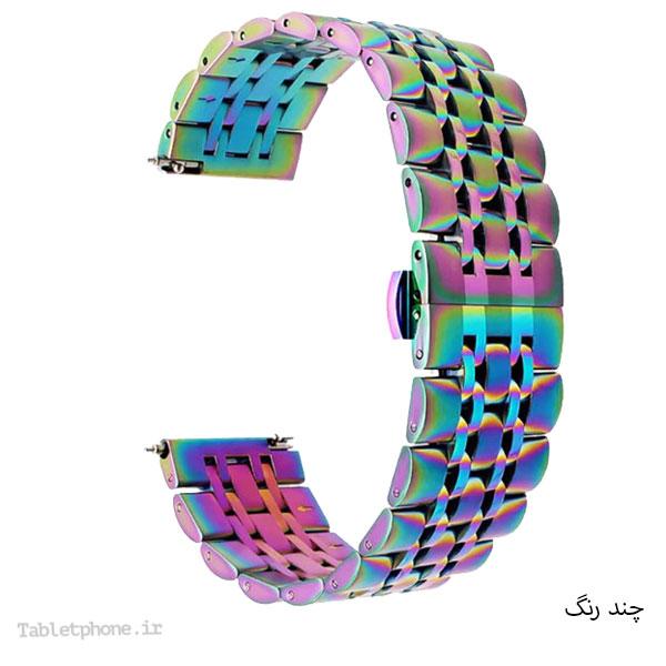 بند استیل ساعت هوشمند مدل 7Bead