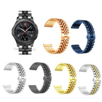 بند ساعت سامسونگ Samsung Gear S3 استیل 5Rows