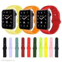 بند سیلیکونی ساعت شیائومی Xiaomi Mi Watch مدل دکمهای