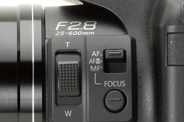 دوربین کامپکت سوپر زوم - تنظیمات لنز