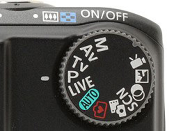 سیستم PASM در دوربین کامپکت
