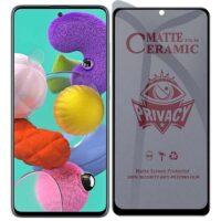 خرید محافظ صفحه سرامیکی گوشی سامسونگ گلکسی A51 مدل Privacy