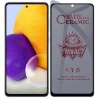 خرید محافظ صفحه سرامیکی گوشی سامسونگ گلکسی A72 مدل Privacy