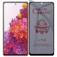 خرید محافظ صفحه سرامیکی گوشی سامسونگ گلکسی S20 FE مدل Privacy