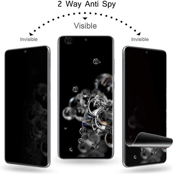 خرید محافظ صفحه سرامیکی پرایوسی گوشی سامسونگ گلکسی S20 الترا