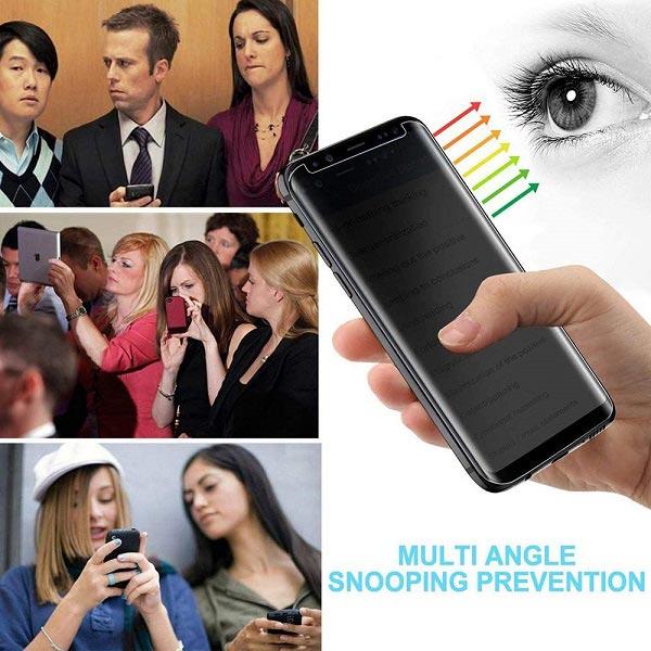 خرید محافظ صفحه سرامیکی پرایوسی گوشی سامسونگ گلکسی S8 پلاس