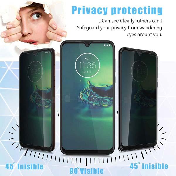خرید محافظ صفحه سرامیکی گوشی موتورولا وان فیوژن مدل Privacy