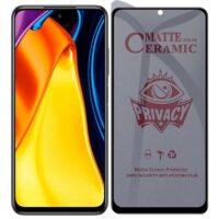 خرید محافظ صفحه سرامیکی گوشی شیائومی Poco M3 Pro مدل Privacy