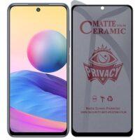 خرید محافظ صفحه سرامیکی گوشی شیائومی ردمی Note 10 4G/10S مدل Privacy