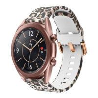 خرید بند سیلیکونی طرح دار ساعت هوشمند سامسونگ گلکسی واچ 3 مدل 41 میلی